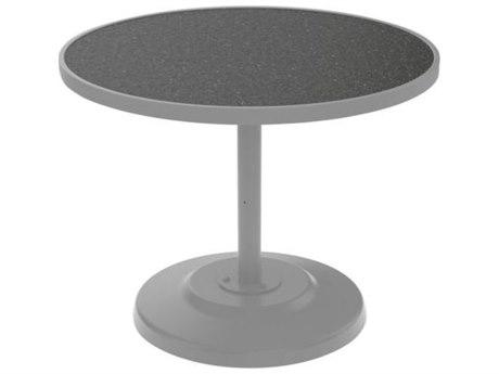 Tropitone Hpl Raduno Aluminum 36 Round KD Dining Table