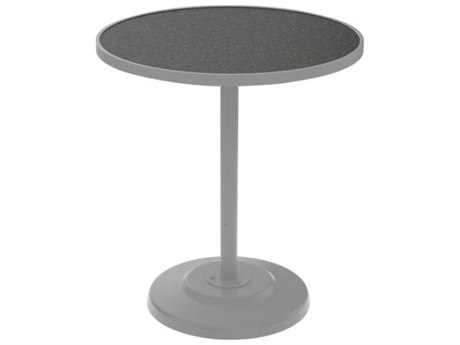 Tropitone Hpl Raduno Aluminum 36 Round Bar Table