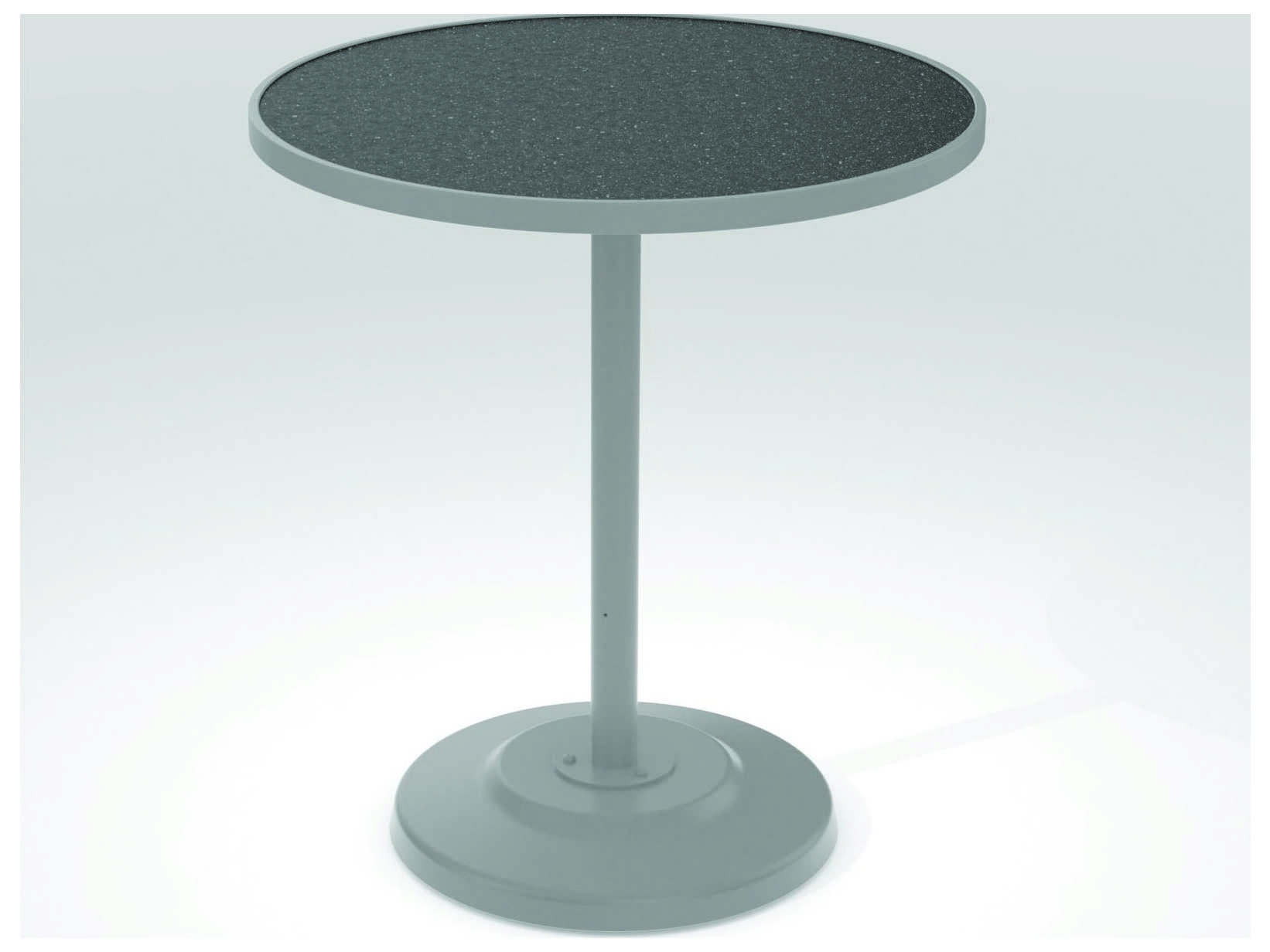 Tropitone Hpl Raduno Aluminum 36 Round Bar Table Tp701497h
