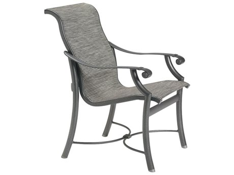 Tropitone Montreux Sling Aluminum Dining Arm Chair