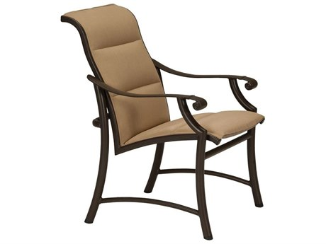 Tropitone Montreaux II Padded Sling Aluminum Dining Chair