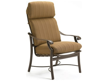 Tropitone Montreux Cushion Aluminum Dining Arm Chair