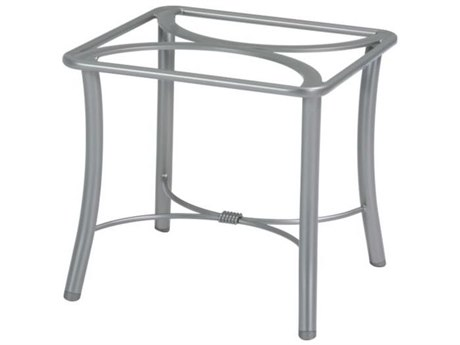 Tropitone Bases Cast Aluminum Square End Table Base Only 21.5H