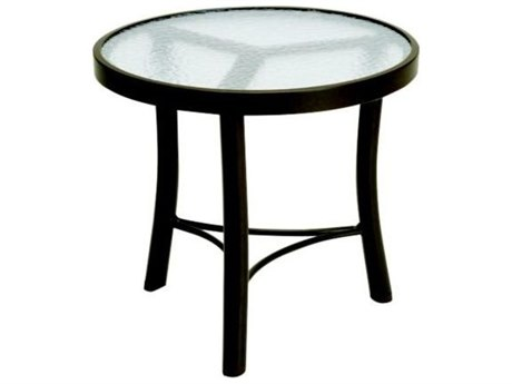 Tropitone Cast Aluminum 20 Round End Table