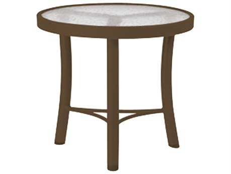 Tropitone Cast Aluminum Obscure 20 Round End Table