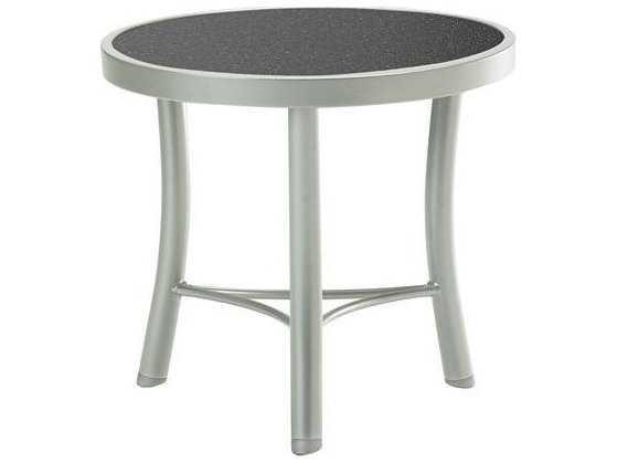 Tropitone Hpl Raduno Aluminum 20 Round Tea Table Tp720282h