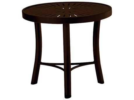 Tropitone La Stratta Aluminum 20 Round End Table