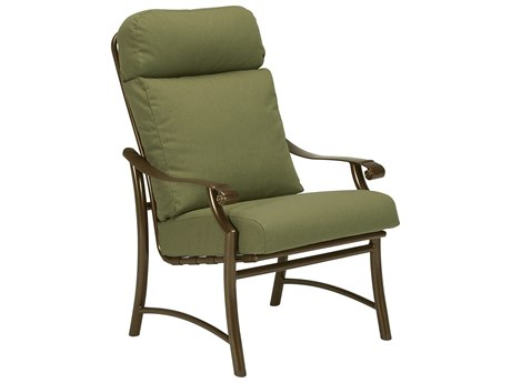 Tropitone Montreaux II Relaxplus Cushion Aluminum Dining Arm Chair
