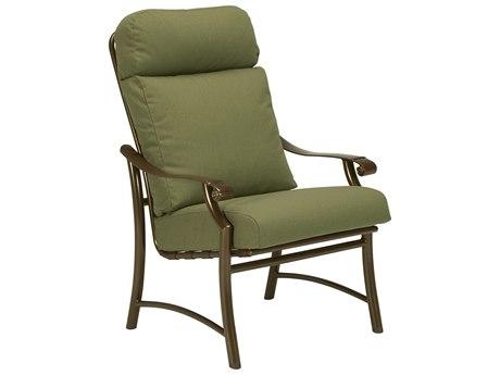 Tropitone Montreaux II Relaxplus Cushion Aluminum Dining Chair