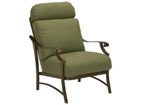 Tropitone Montreaux II Relaxplus Cushion Aluminum Lounge Chair