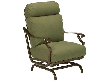 Tropitone Montreaux II Relaxplus Cushion Aluminum Action Lounger