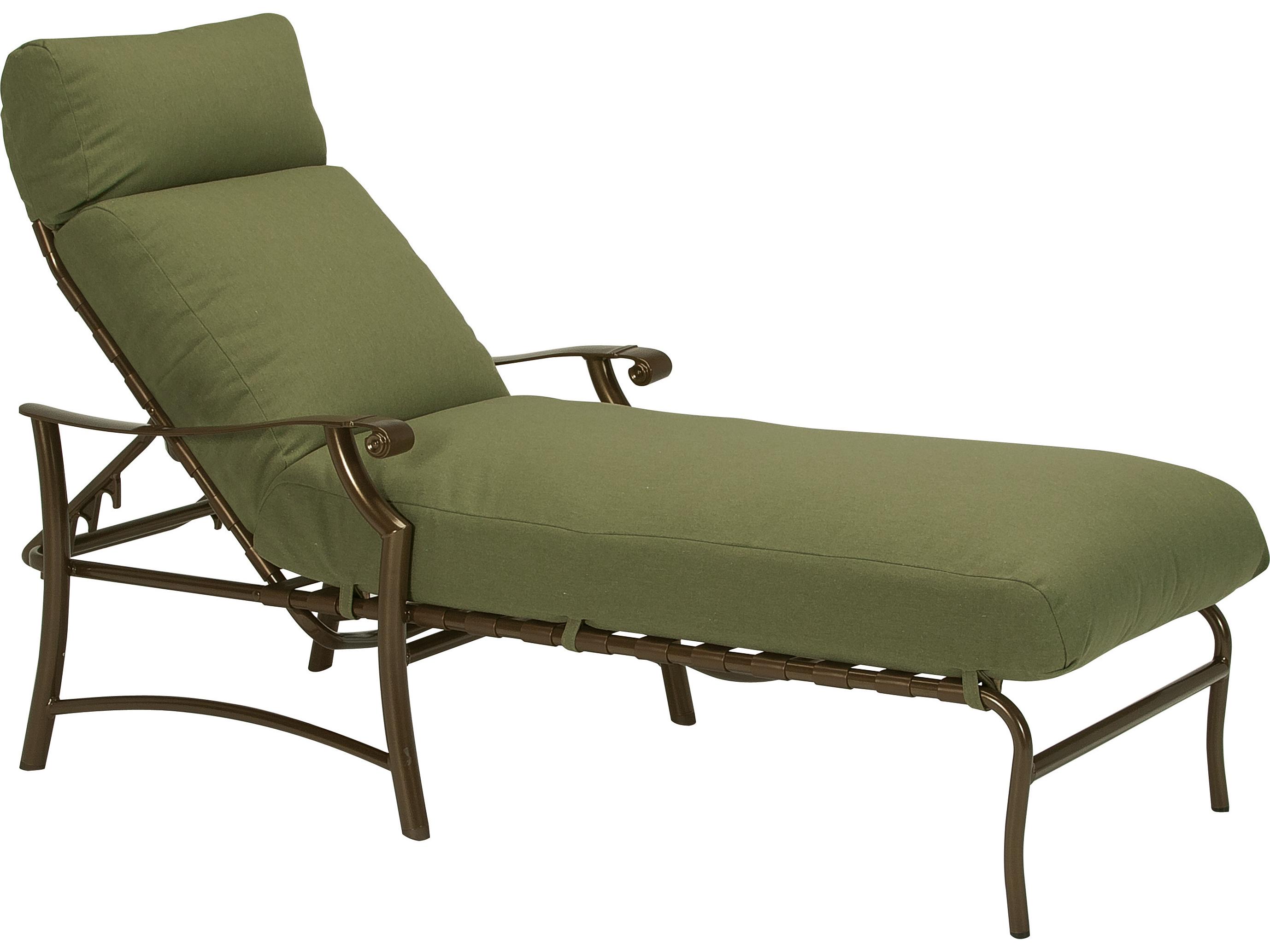 Tropitone montreaux ii relaxplus aluminum chaise lounge for Chaise lounge aluminum