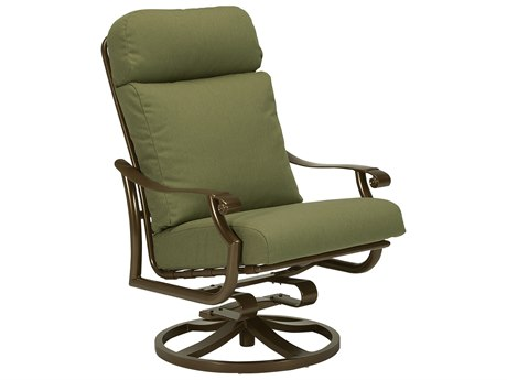 Tropitone Montreaux II Relaxplus Cushion Aluminum Swivel Rocker PatioLiving