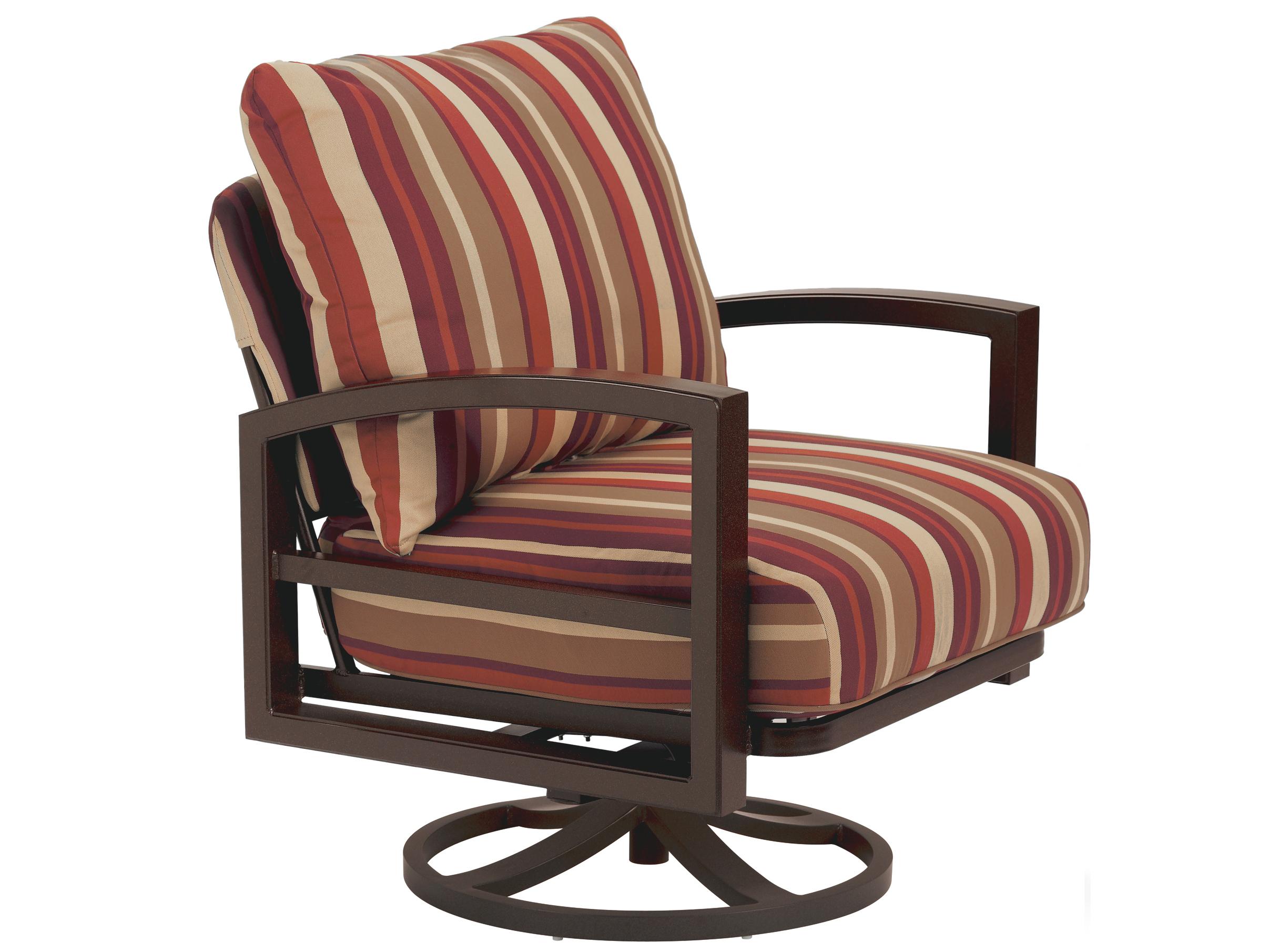 Tropitone Lakeside Cushion Aluminum Swivel Rocker Lounge