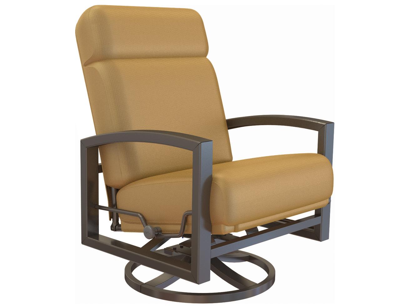 Tropitone Lakeside Urcomfort™ Cushion Aluminum Swivel Action Lounger ...