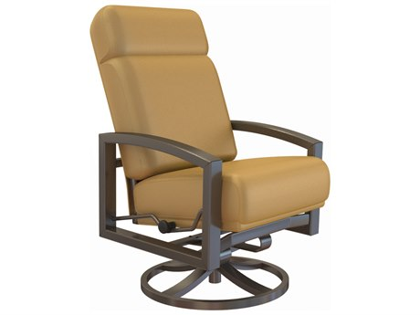 Tropitone Lakeside Urcomfort Cushion Aluminum Petite Swivel Rocker Lounge Chair