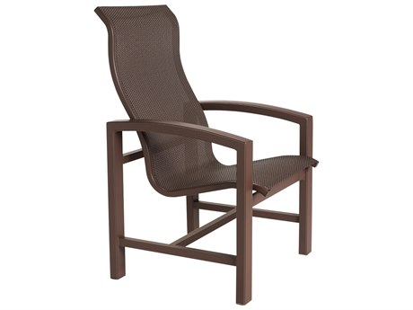 Tropitone Lakeside Sling Aluminum Dining Arm Chair