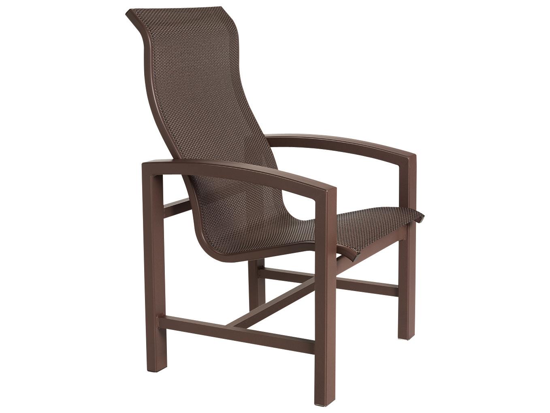 Tropitone Lakeside Sling Aluminum Dining Chair