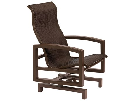 Tropitone Lakeside Sling Aluminum Action Glider Lounge Chair
