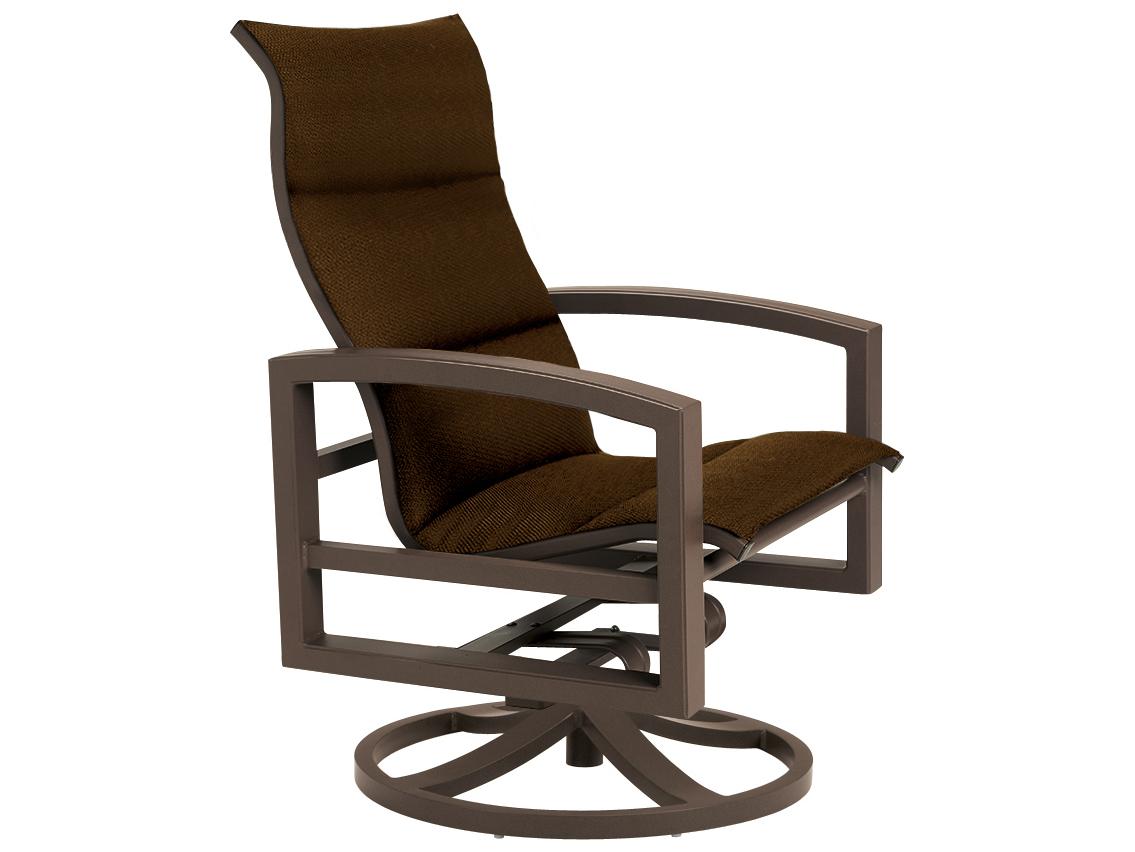 Tropitone Lakeside Padded Sling Lounge Chairs 740525ntps