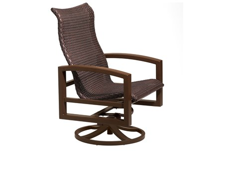 Tropitone Lakeside Woven Swivel Action Lounge Chair