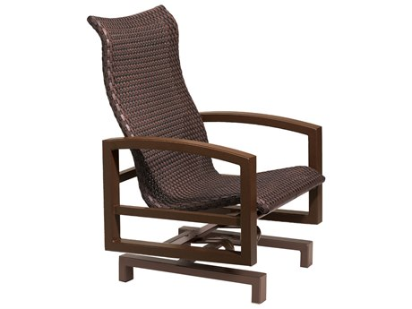 Tropitone Lakeside Woven Action Glider Lounge Chair