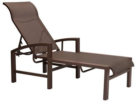 Tropitone Lakeside Sling Aluminum Chaise Lounge