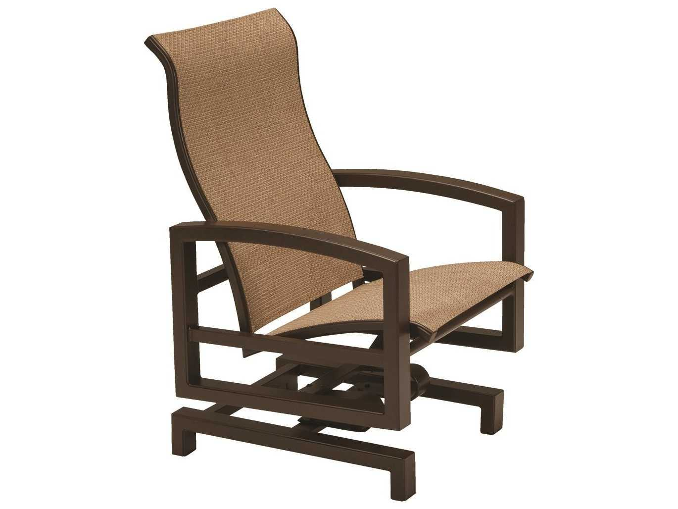 Lakeside padded sling aluminum outdoor furniture by for Furniture gallery lakeside