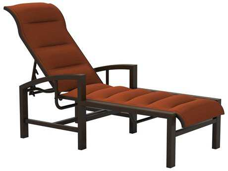 Tropitone Lakeside II Padded Sling Aluminum Chaise Lounge