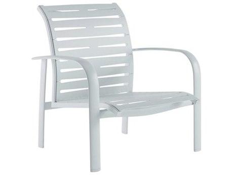 Tropitone Laguna Beach EZ Span Ribbon Aluminum Stackable Spa Lounge Chair