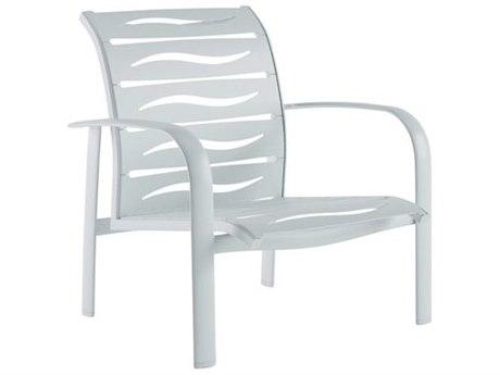 Tropitone Laguna Beach EZ Span Wave Aluminum Stackable Lounge Chair