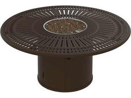 Tropitone Spectrum Fire Pits - Manual Ignition 55 Round Fire Pit (24 round base)