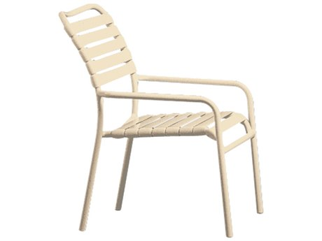 Tropitone Kahana Strap Stackable Dining Chair