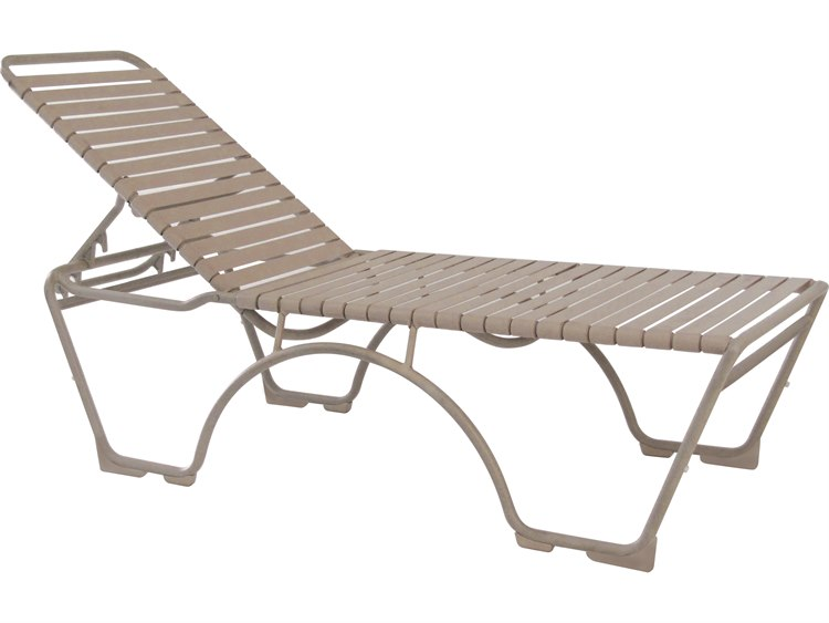 Tropitone Kahana Strap Aluminum Stackable Chaise