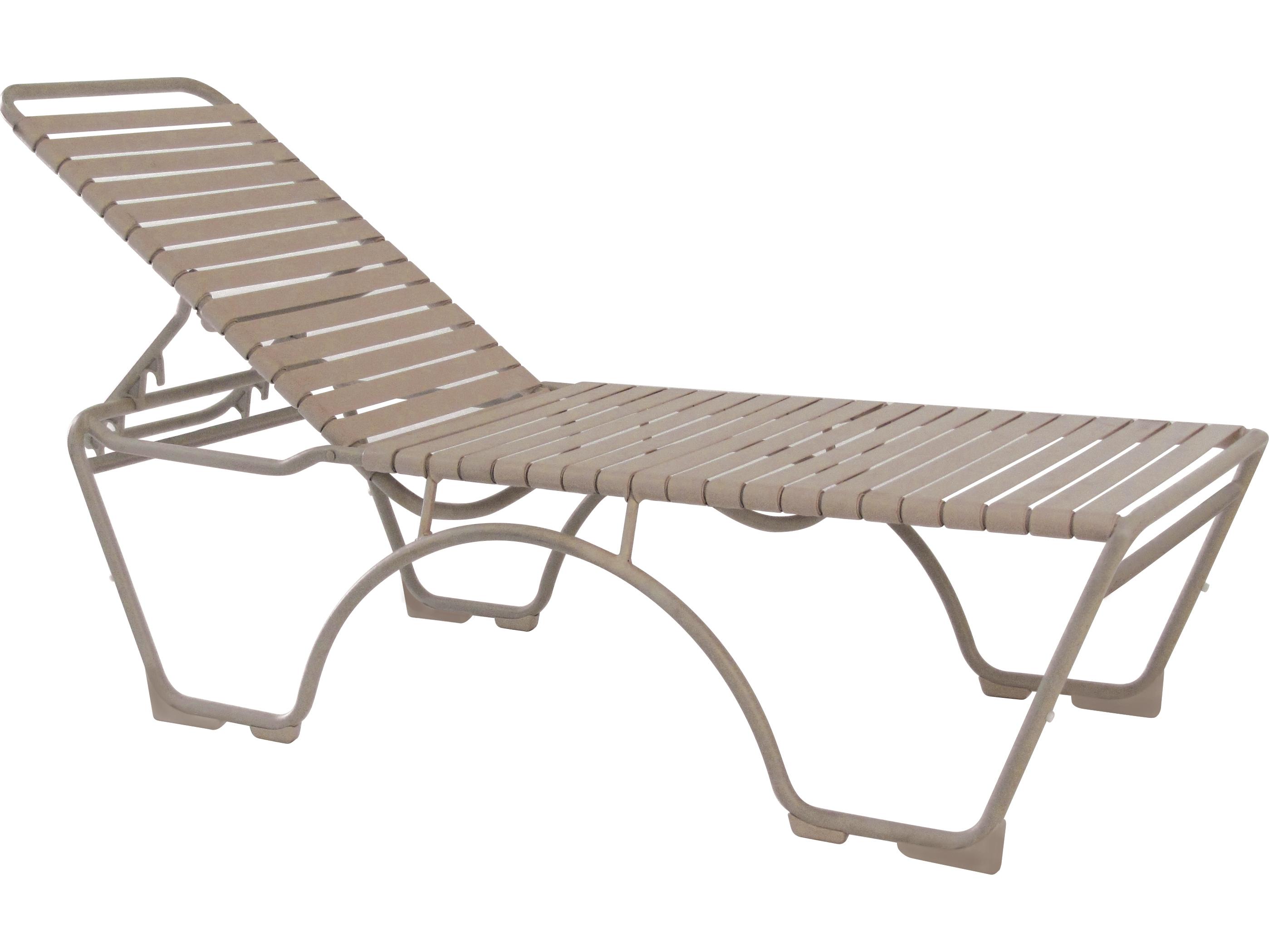 Tropitone Kahana Strap Aluminum Stackable Chaise 8032n