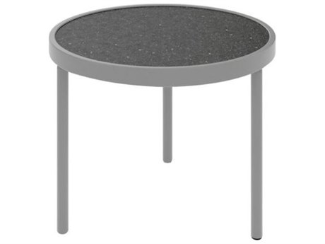 Tropitone Hpl Raduno Aluminum 20 Round Tea Table