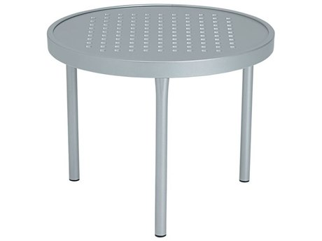 Tropitone Boulevard Aluminum 20 Round End Table