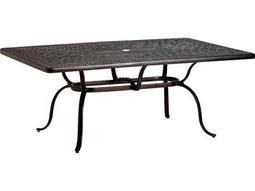 Garden  Terrace Cast Aluminum 70 x 43 Rectangular Dining Table with