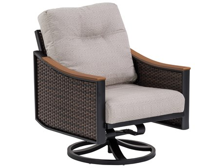 Tropitone Brazo Woven Cushion Swivel Action Lounger