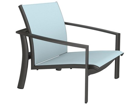 Tropitone Kor Relaxed Sling Aluminum Spa Lounge Chair