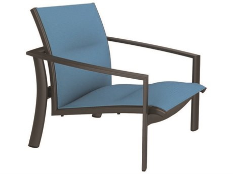 Tropitone Kor Padded Sling Aluminum Spa Chair