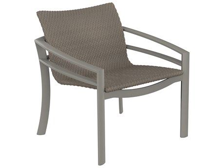 Tropitone Kor Woven Aluminum Wicker Lounge Chair