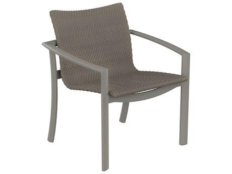 Tropitone Kor Woven Aluminum Dining Arm Chair