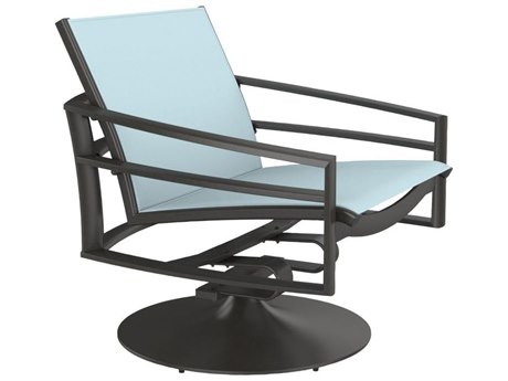 Tropitone Kor Relaxed Sling Aluminum Swivel Action Lounger