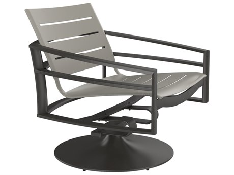 Tropitone Kor Aluminum Slat Swivel Action Lounger