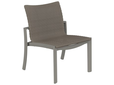 Tropitone Kor Woven Aluminum Dining Side Chair
