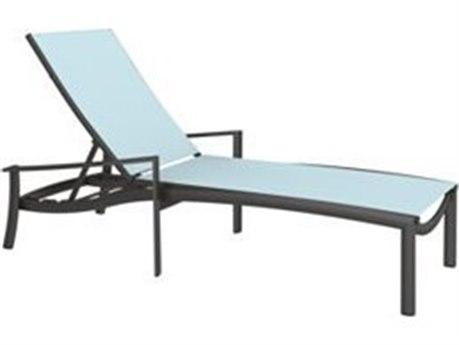 Tropitone Kor Sling Aluminum Chaise Lounge