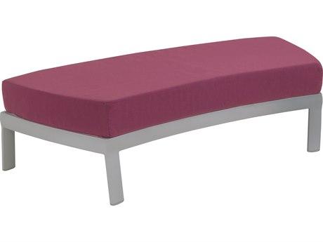 Tropitone Kor Cushion Aluminum Lounger Ottoman