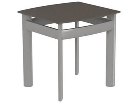 Tropitone Kor Aluminum 17 Square Tea Table