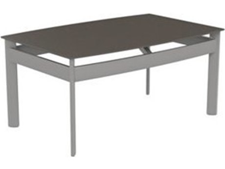 Tropitone Kor Aluminum 36 x 23.5 Rectangular Coffee Table